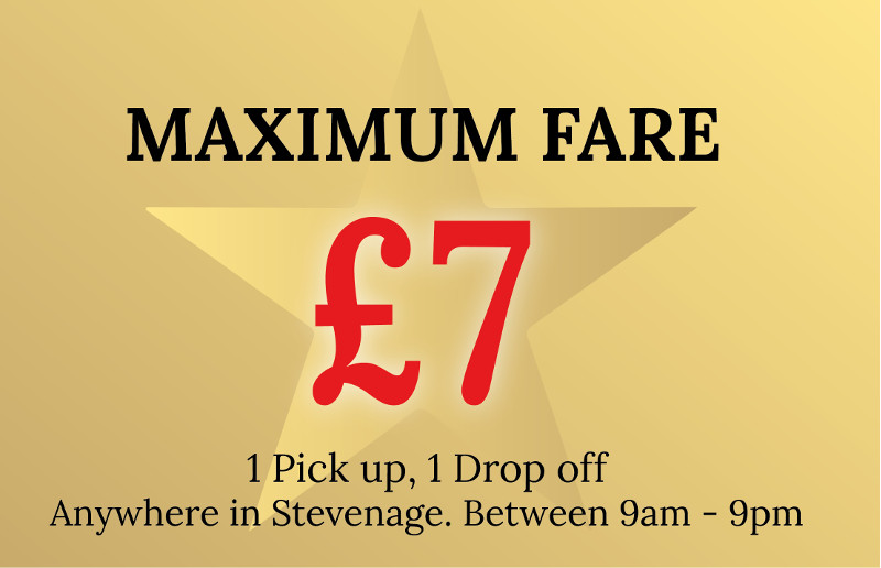 £7 anywhere in Stevenage